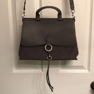 Rebecca Minkoff Medium Keith Suede/Leather Satchel